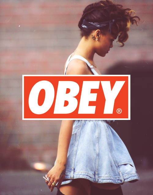 obey swag on Tumblr 500x639