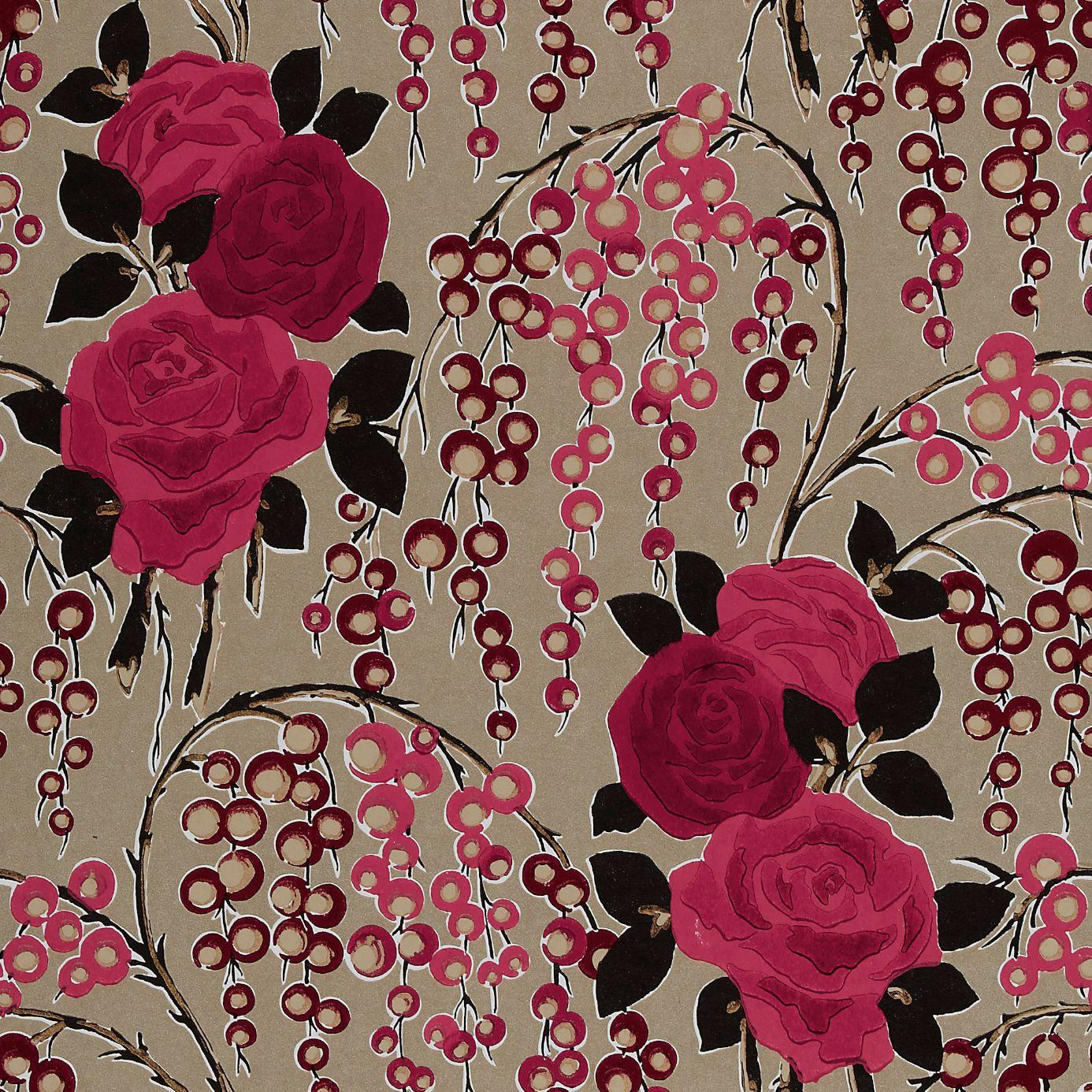 Home Wallpapers Harlequin Boutique Wallpapers Iola Rose Wallpaper 1386x1386