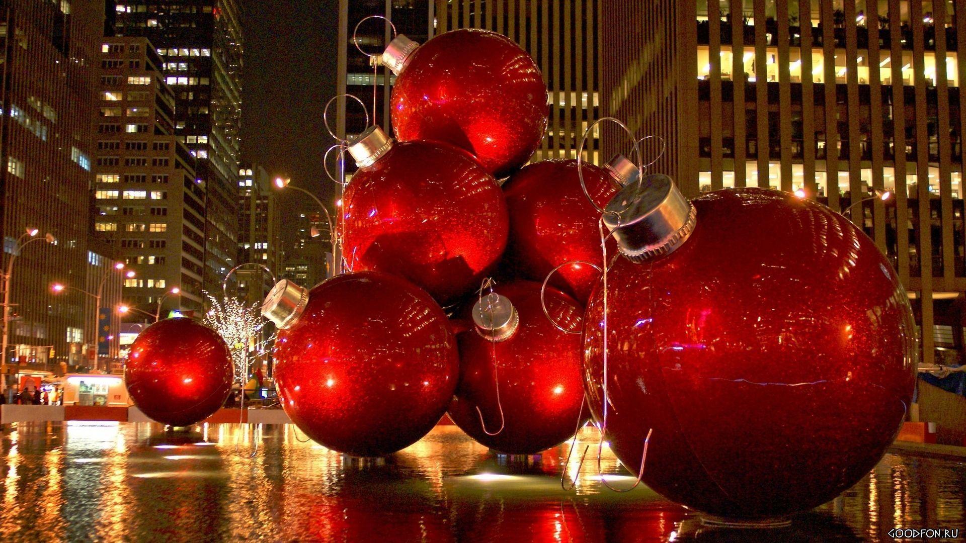 New York Christmas Wallpapers 1920x1080