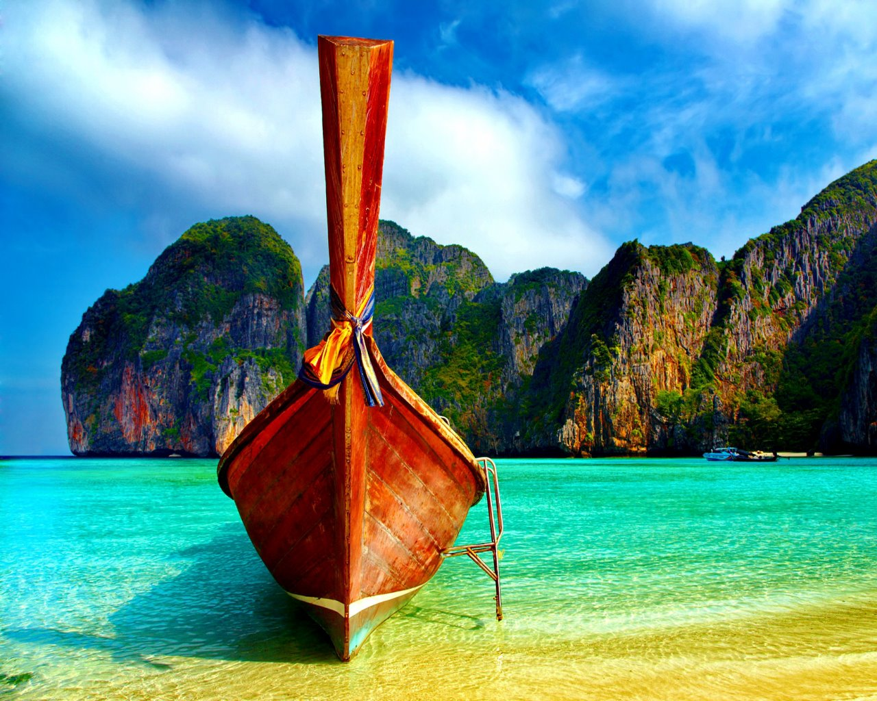 BEAUTIFUL BEACH THAILAND wallpaper   ForWallpapercom 1280x1024