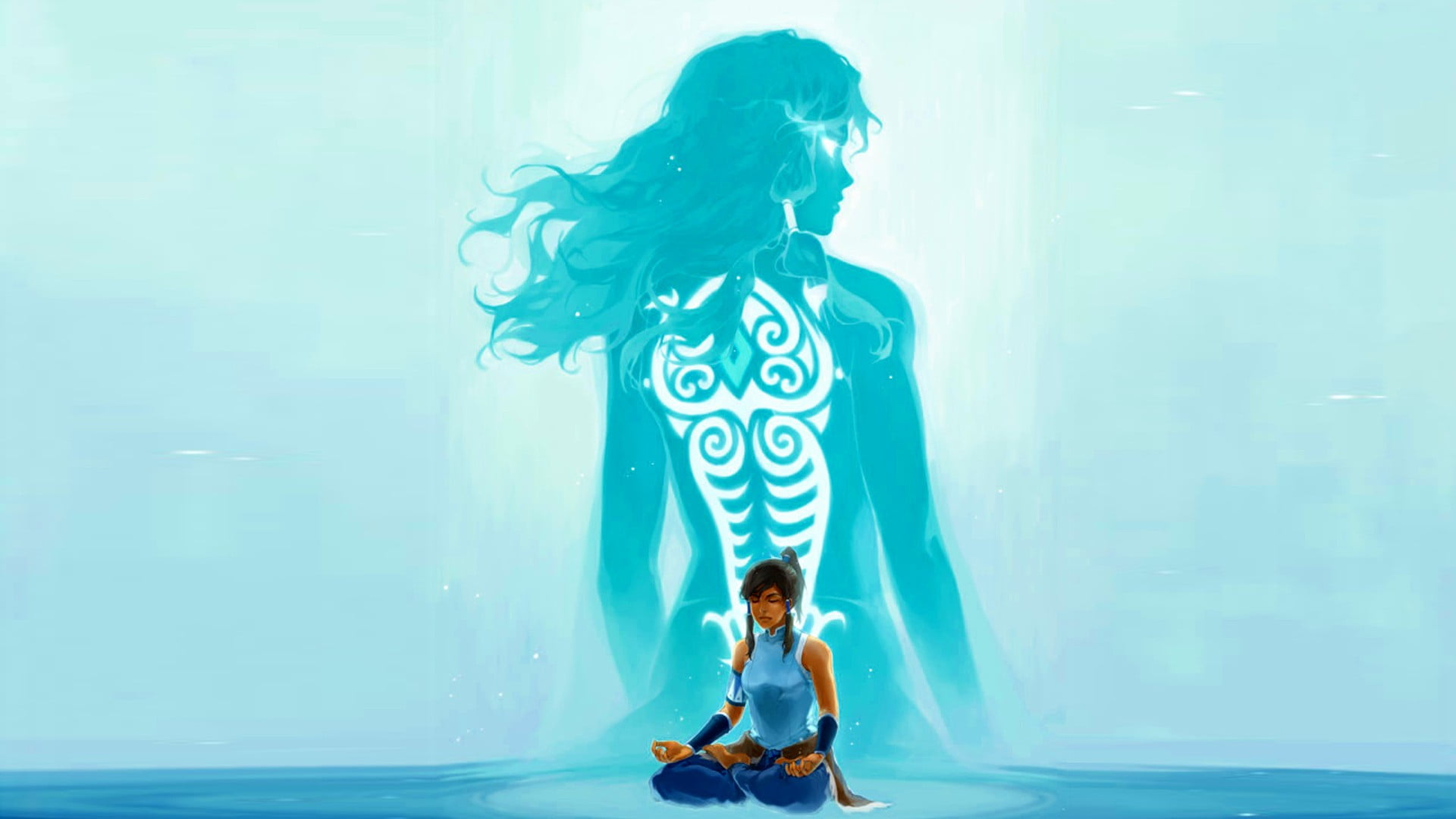 Avatar Water Bender Graphic The Legend Of Korra Korra   Avatar 1920x1080