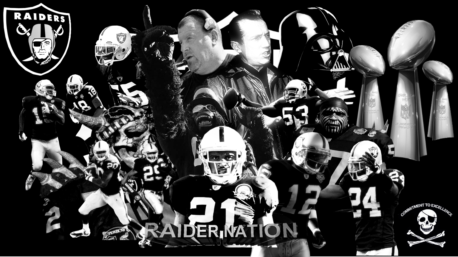 wallpaper of the week Oakland Raiders wallpaper Oakland Raiders 1536x864