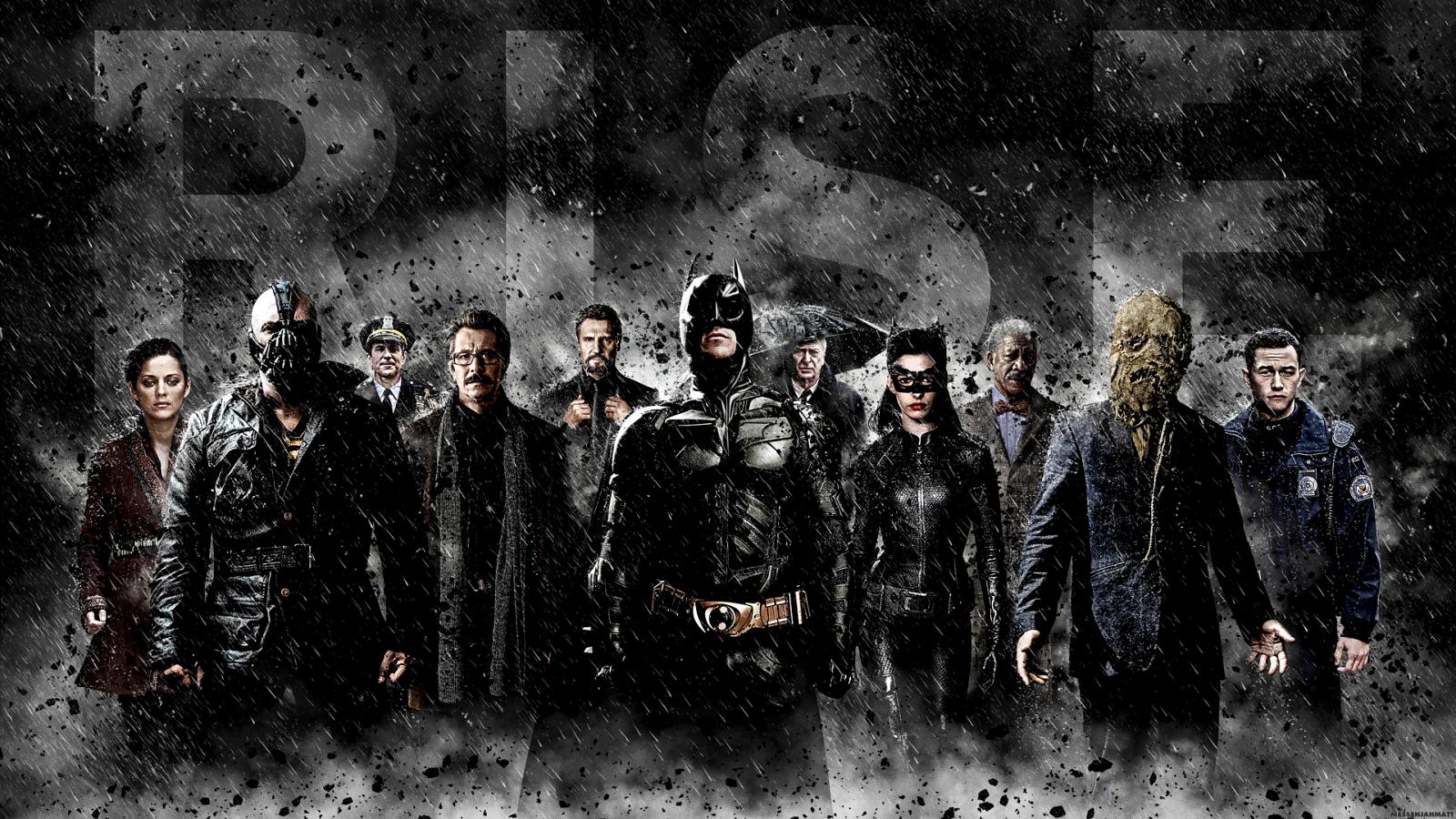 Batman The Dark Knight Rises 2012 HD Poster Wallpapers 1600x900