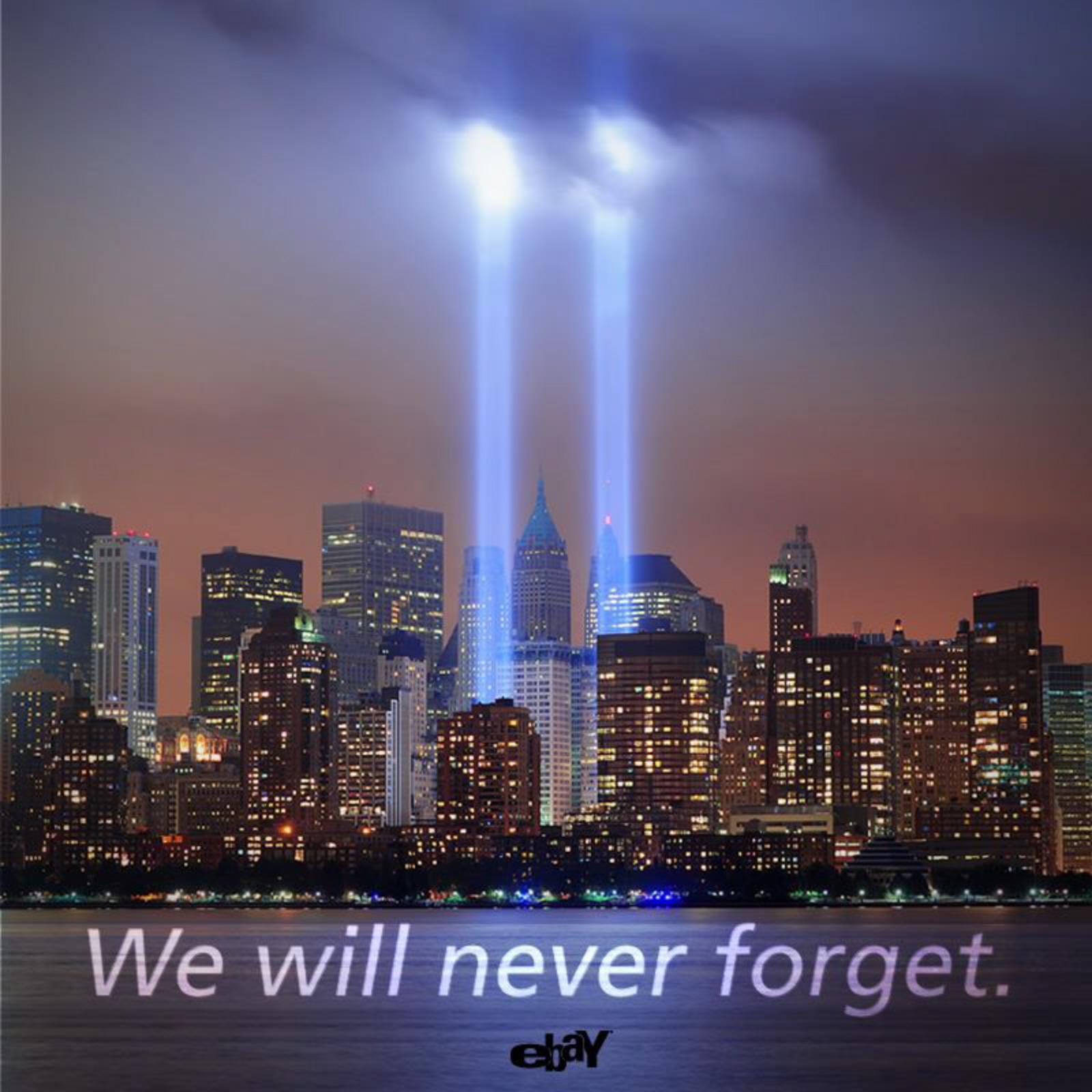 never forget 9 11 wallpaper twin tower lights september 11 2012jpg 1600x1600