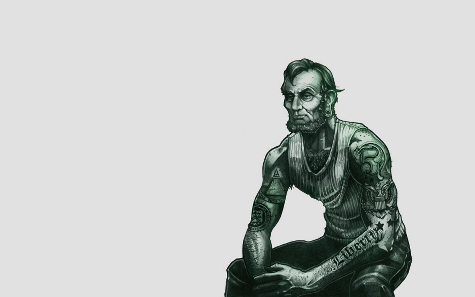 Abe Lincoln Wallpaper 1600x1000