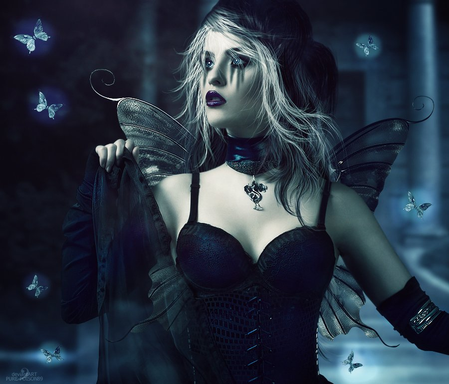 Dark Fairy Gothic Wallpapers Pictures 900x770