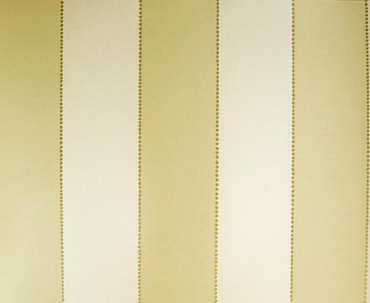 Stripe Wallpaper Pale yellow and cream wide stripe wallpaper with gold 534x437