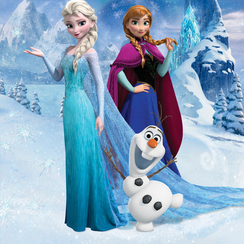 Walltastic Disney Frozen Wallpaper Mural 800x800