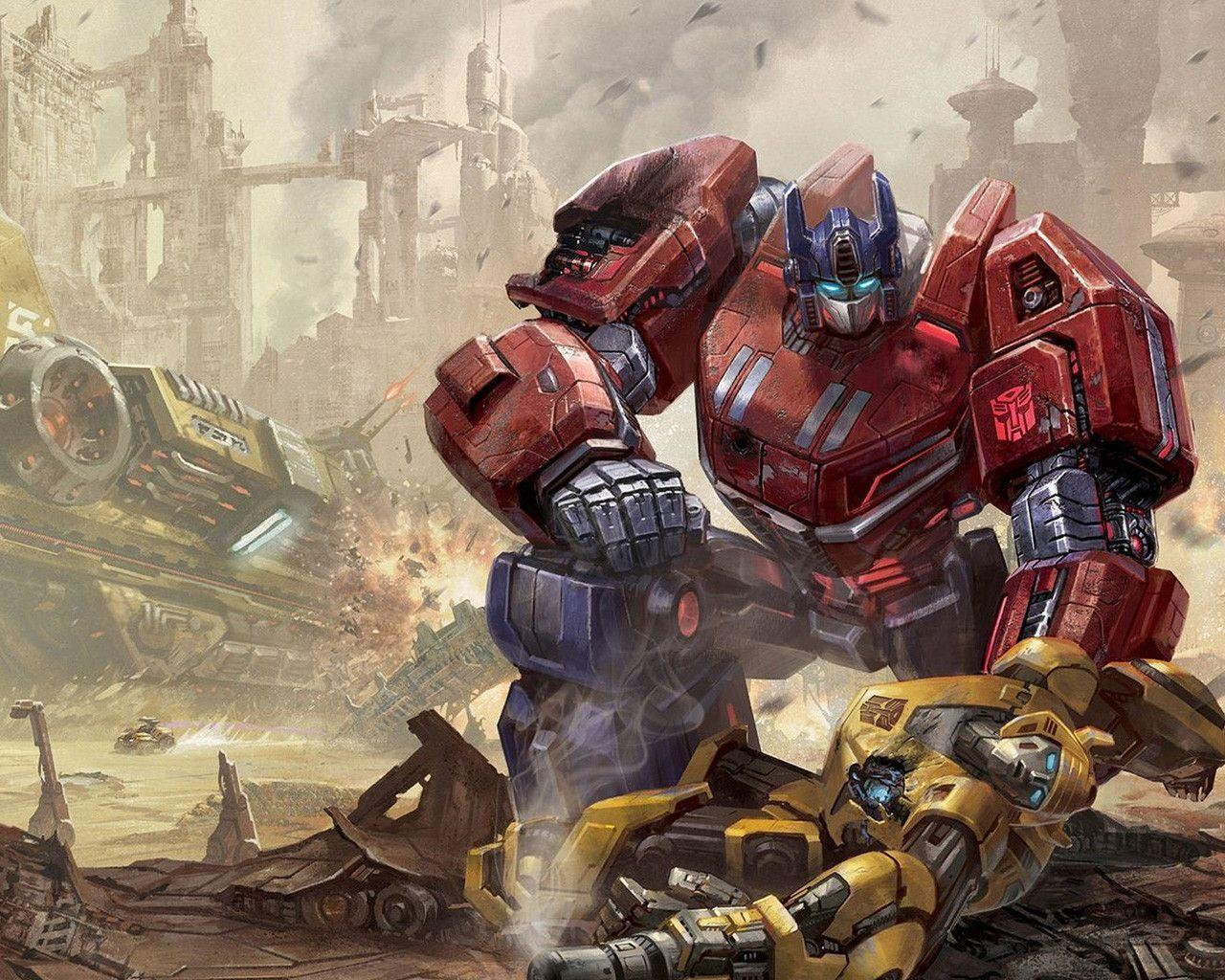 Fall Of Cybertron Wallpapers 1280x1024