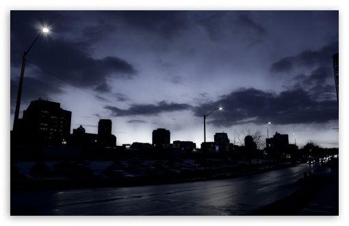 Downtown Calgary digital wallpapers black wallpapers wallpaper 510x330