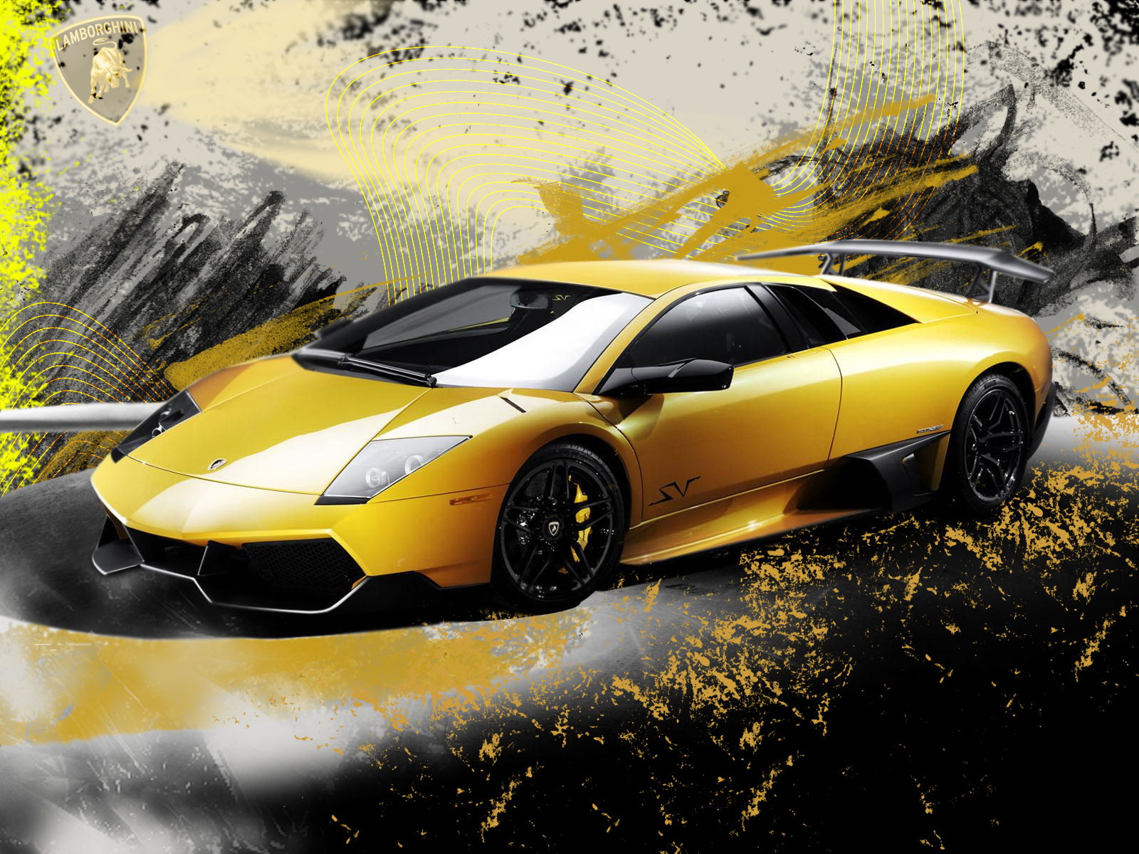 Download The Yellow Cool Car Wallpaper Auto Desktop Background Car