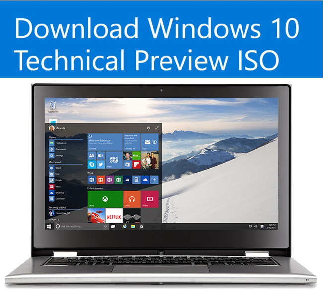 Microsoft releases Windows 10 January Technical Preview build 9926 650x589