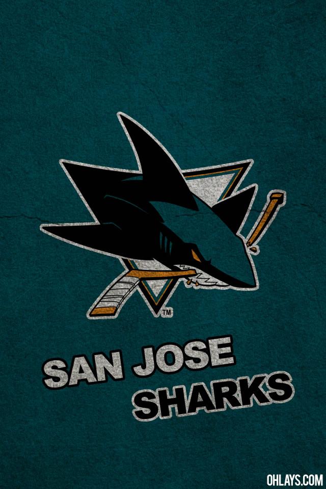 San Jose Sharks iPhone Wallpaper 1173 ohLays 640x960