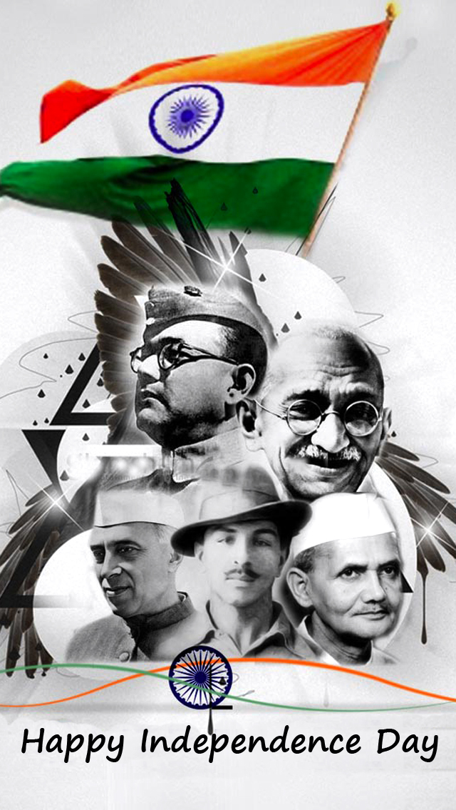 Freedom Fighters of India Mobile Wallpapers 640x1136
