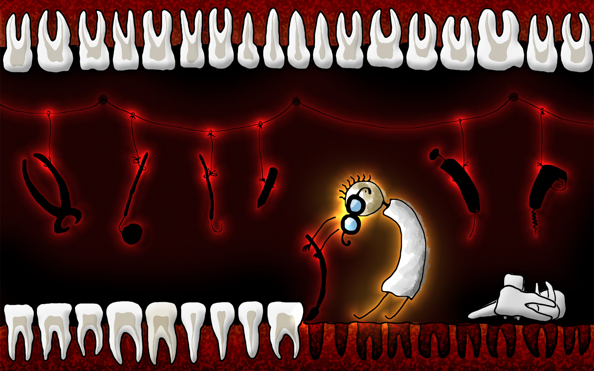 cool backgrounds wallpapers vladstudio teeth 1920x1200 1920x1200
