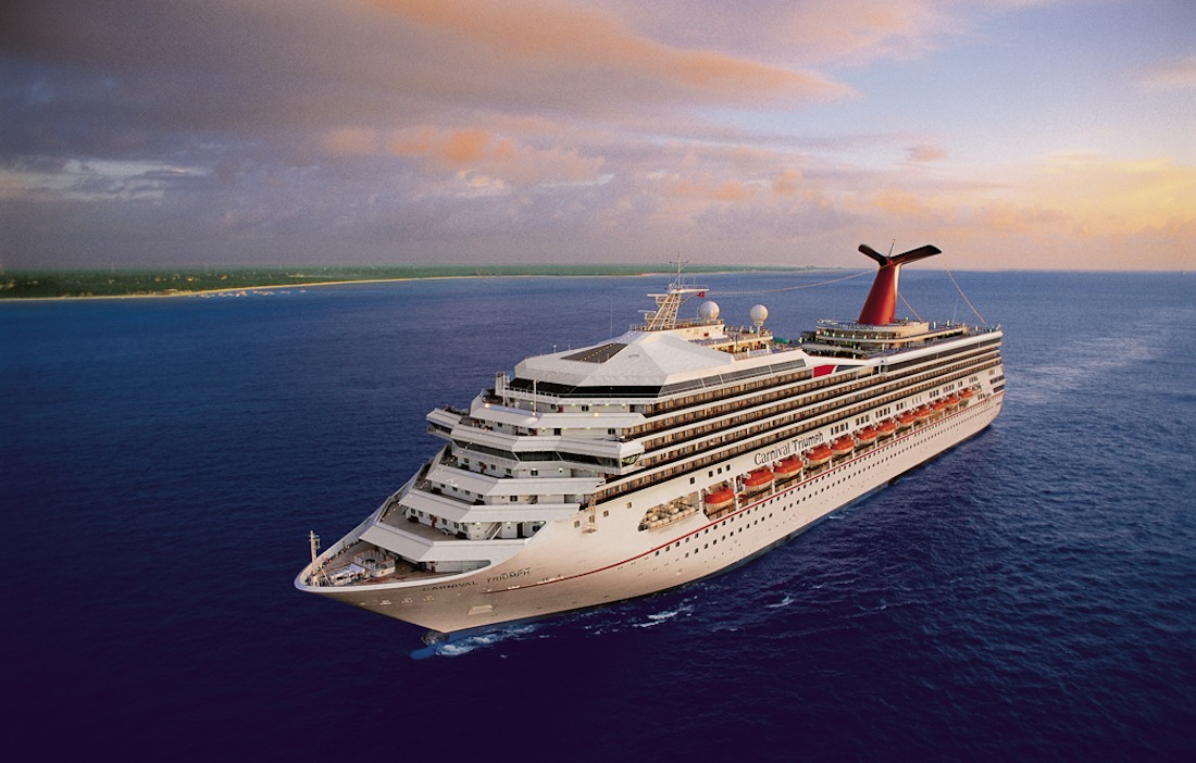 Carnival Triumph Sails Several Longer Cruises in 2015 1100x702