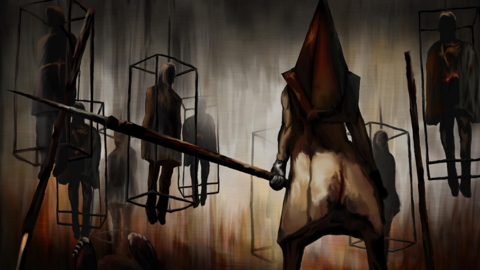 Free Download Silent Hill Pyramid Head Hd Wallpaper General 908846
