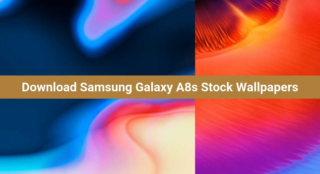 Download Samsung Galaxy A8s Stock Wallpapers 1100x600