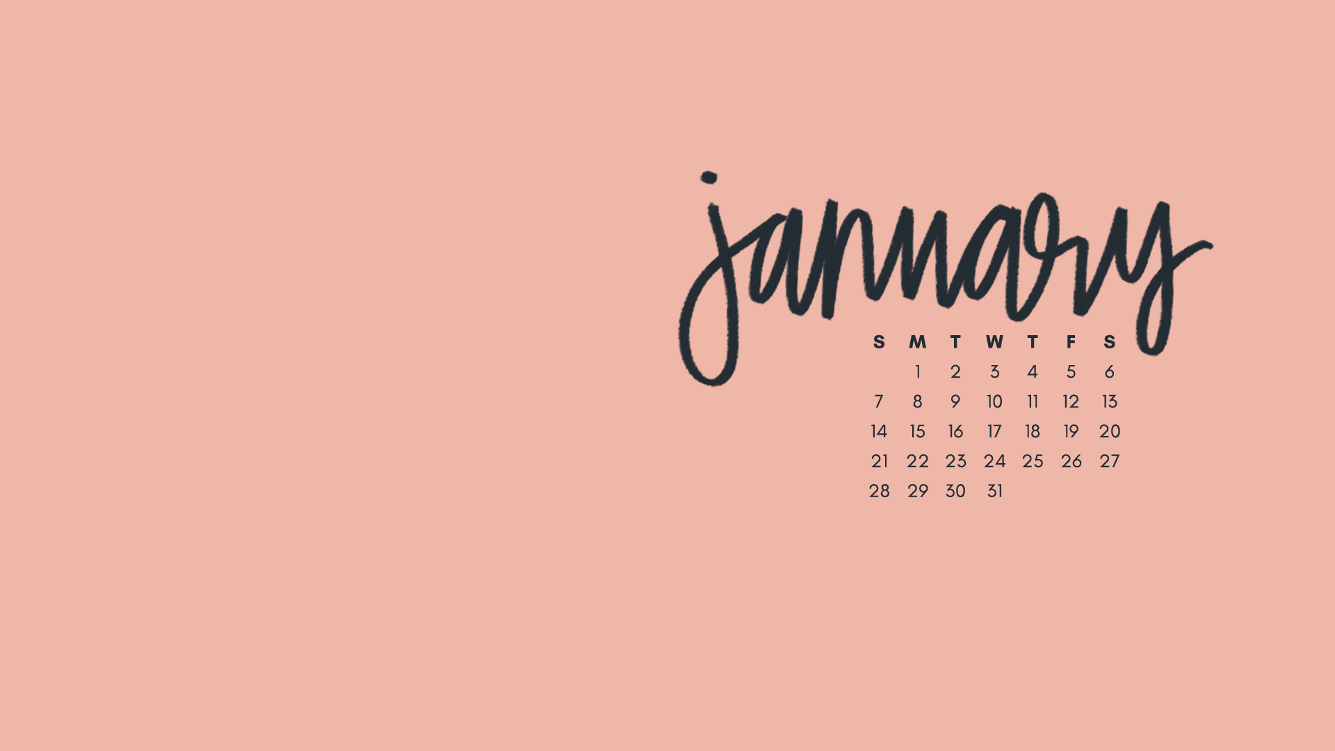 January 2018 Wallpapers Folder Icons   Whatever Bright 1920x1080