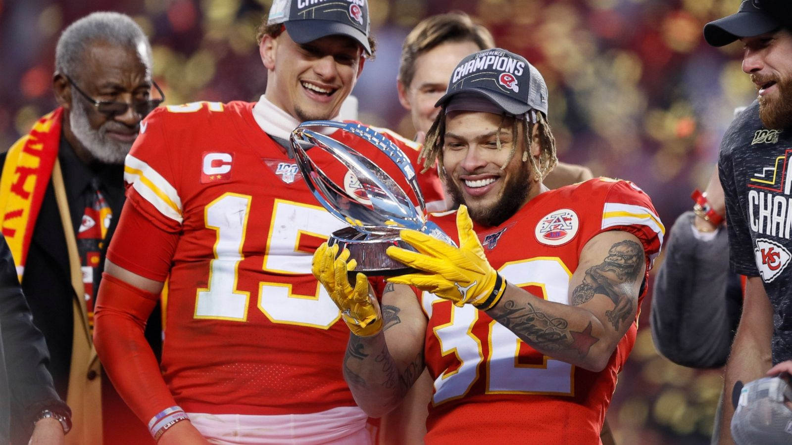After cashing in on QB gambles Niners Chiefs in Super Bowl   ABC 1600x900