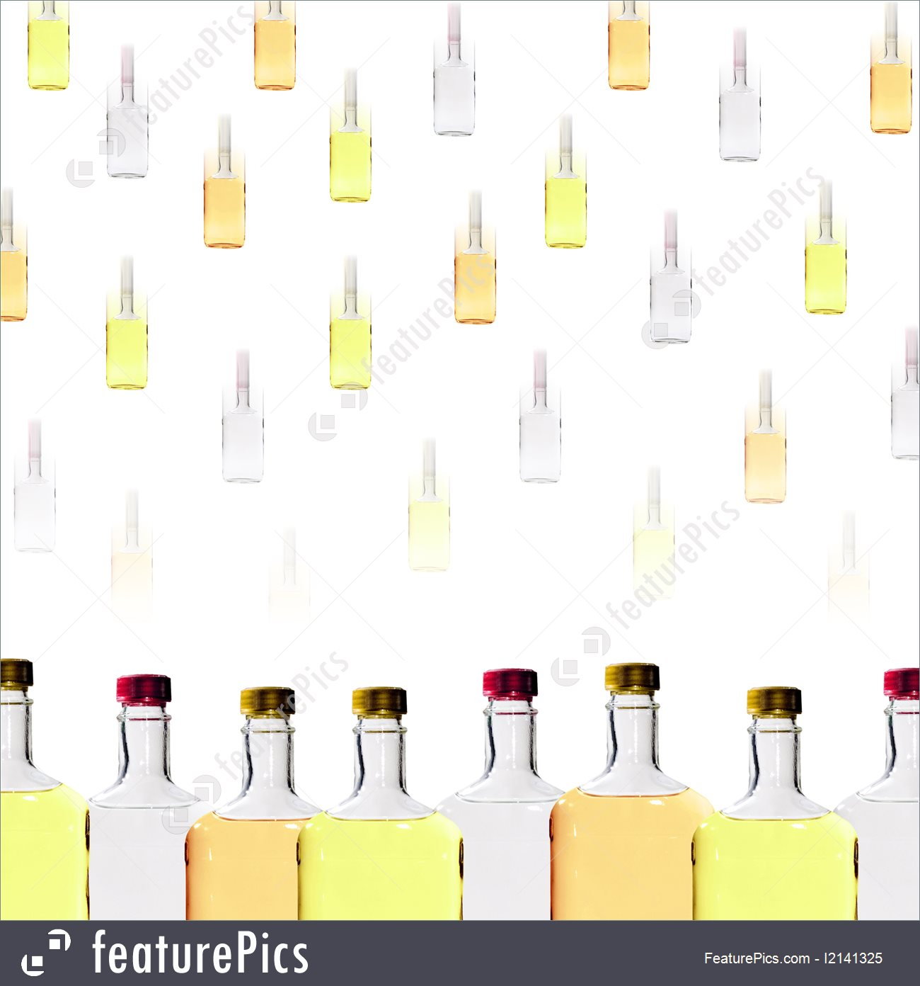Alcohol Bottles Background 1300x1392
