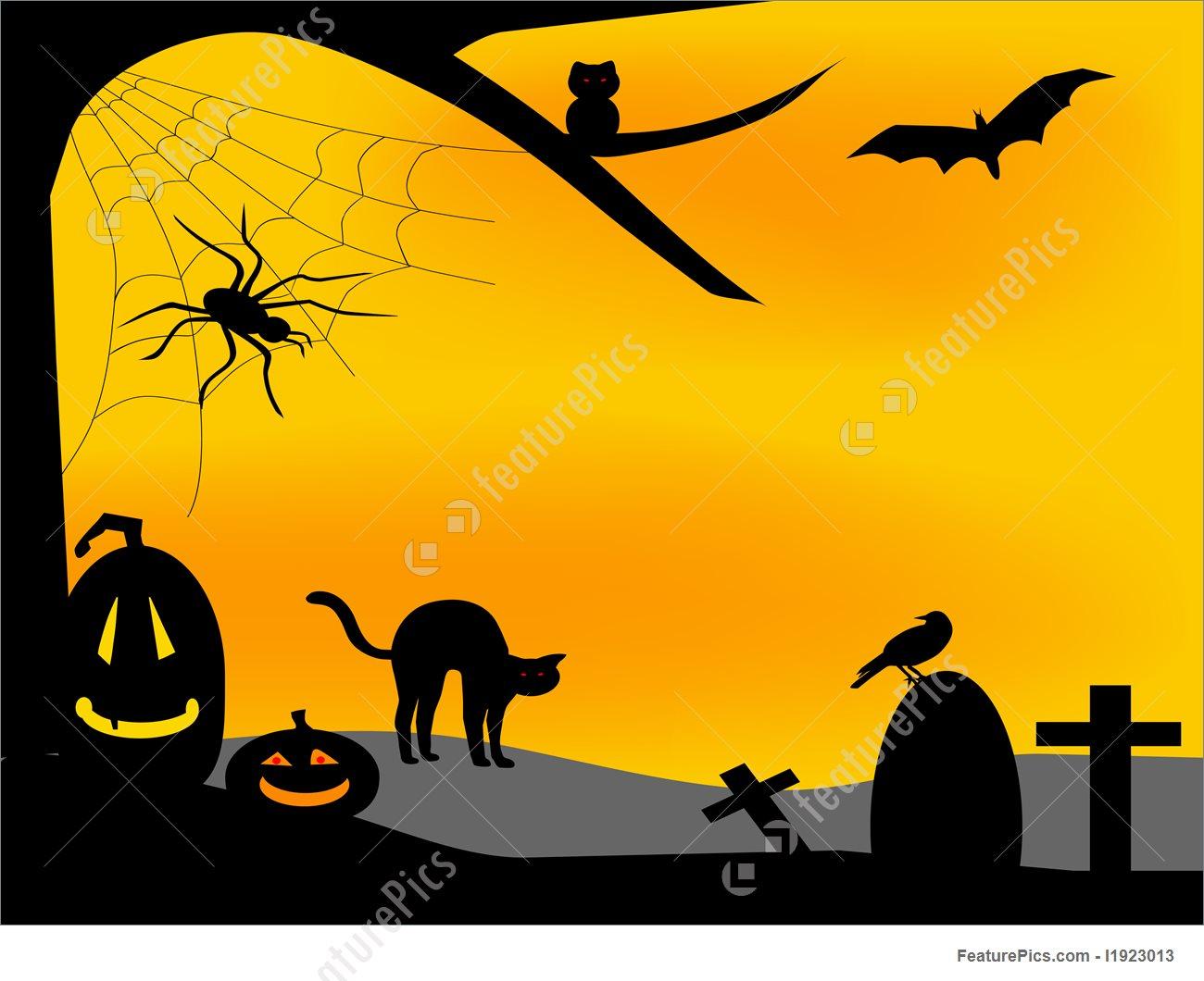 Halloween Halloween Background   Stock Illustration I1923013 at 1300x1060