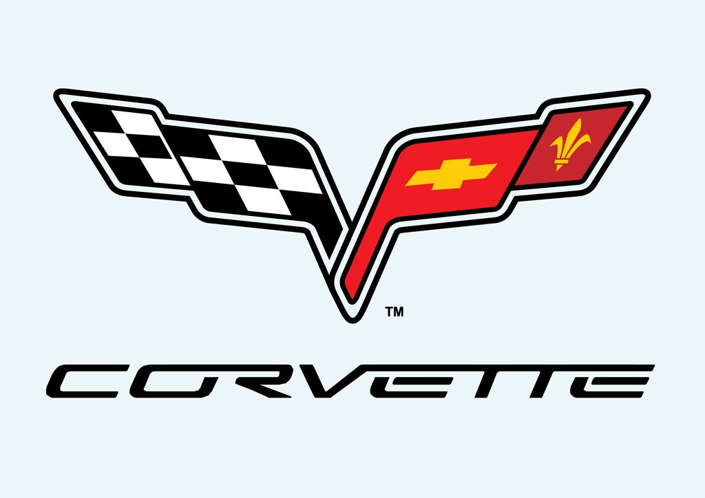 Corvette Logo Vector 1024x724
