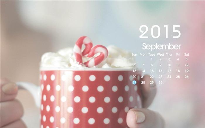 September 2015 Calendar Desktop Themes Wallpaper Wallpapers View 700x437