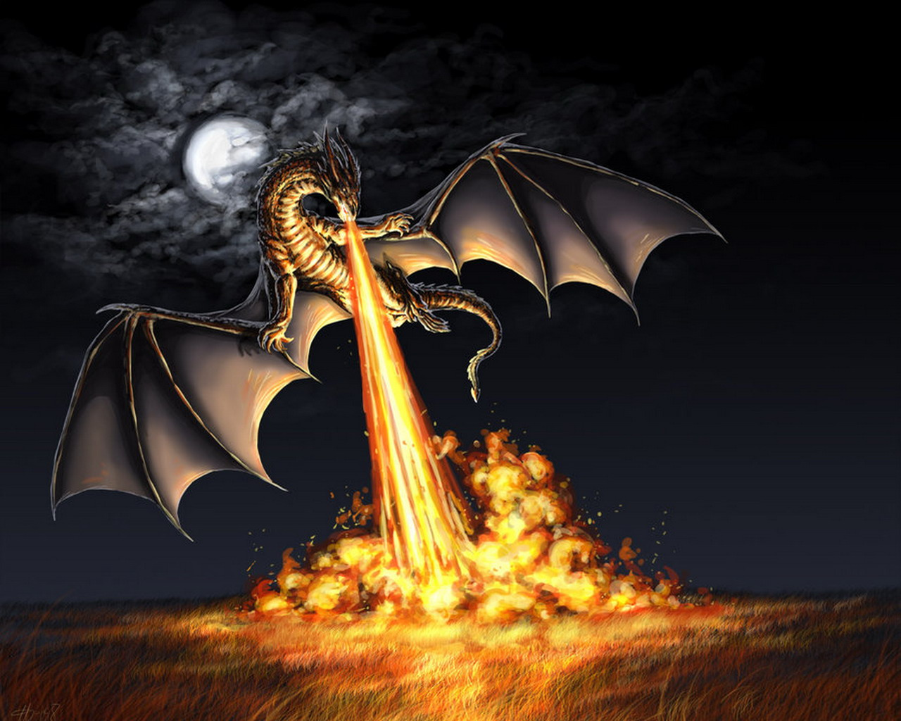 Dragon wallpapers and Dragon background for your computer desktop 1280x1024