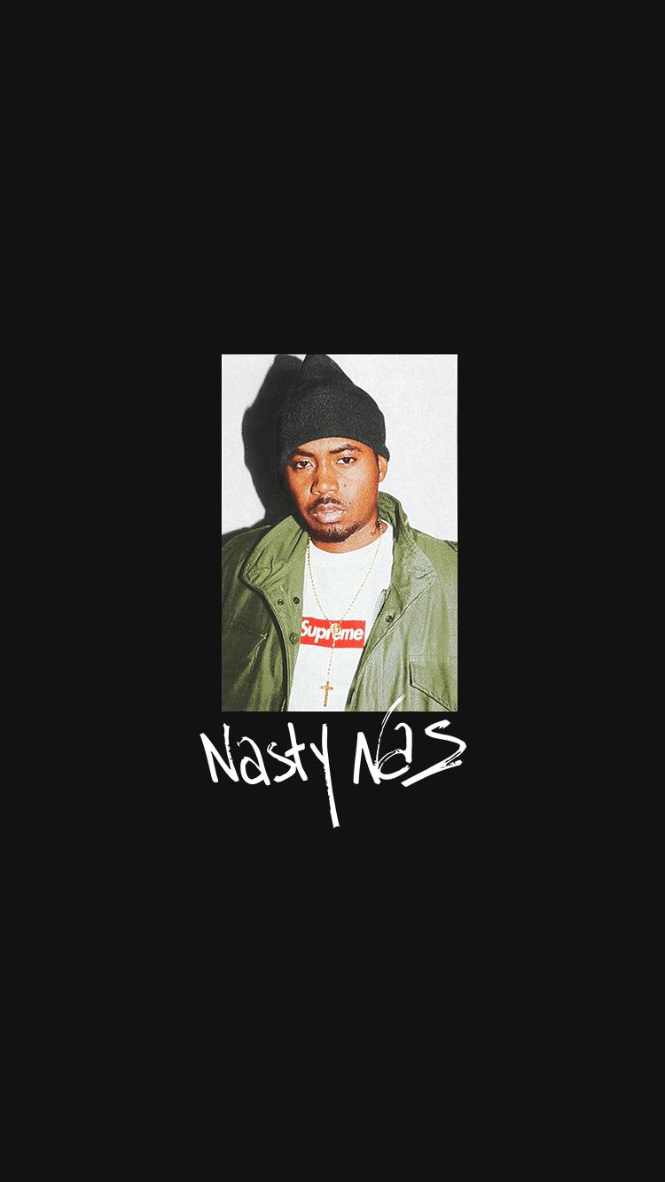 Supreme Nas Wallpapers on WallpaperDog 750x1334