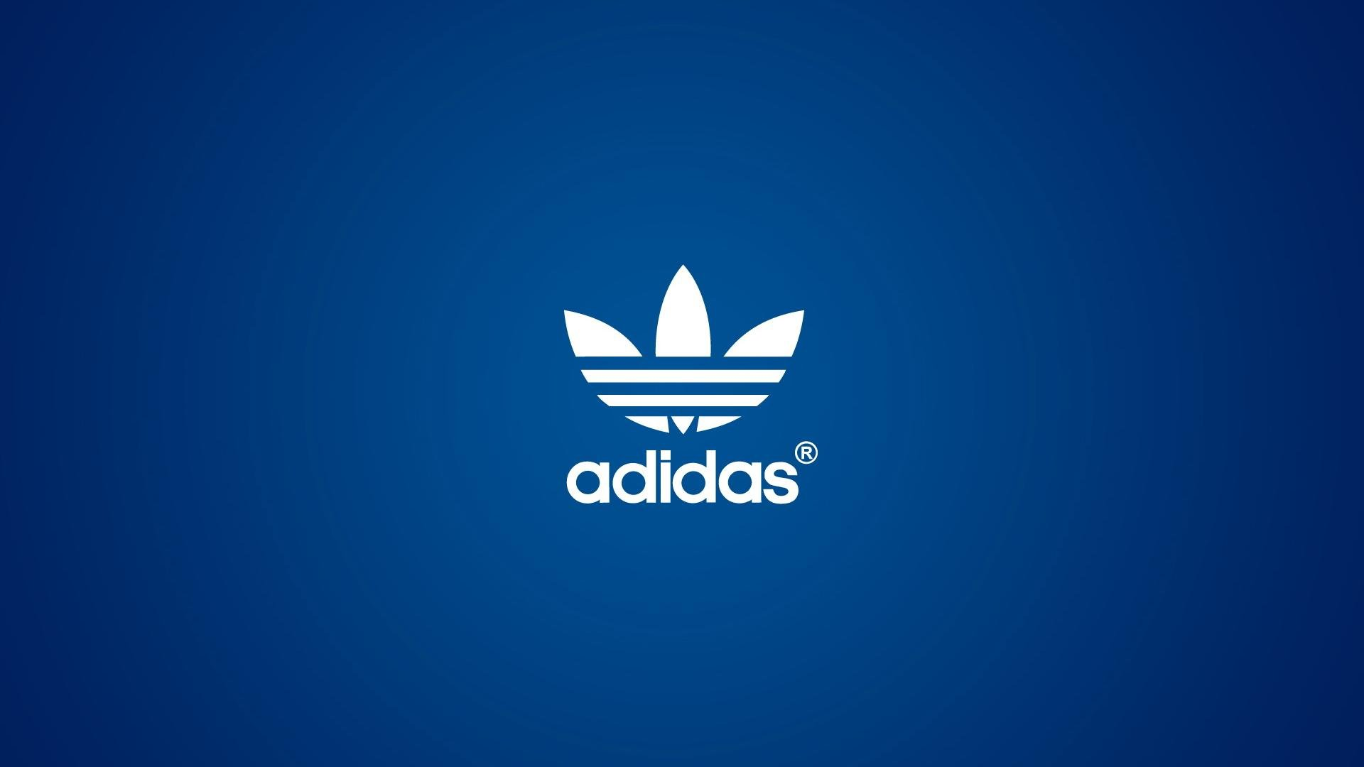 1920x1080 Adidas Brand Blue Backgrounds 1920x1080