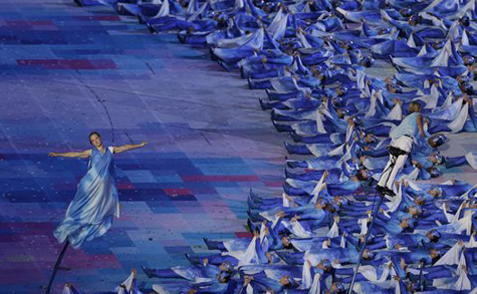 Images Paralympic opening ceremony was a stunning affair 940x580