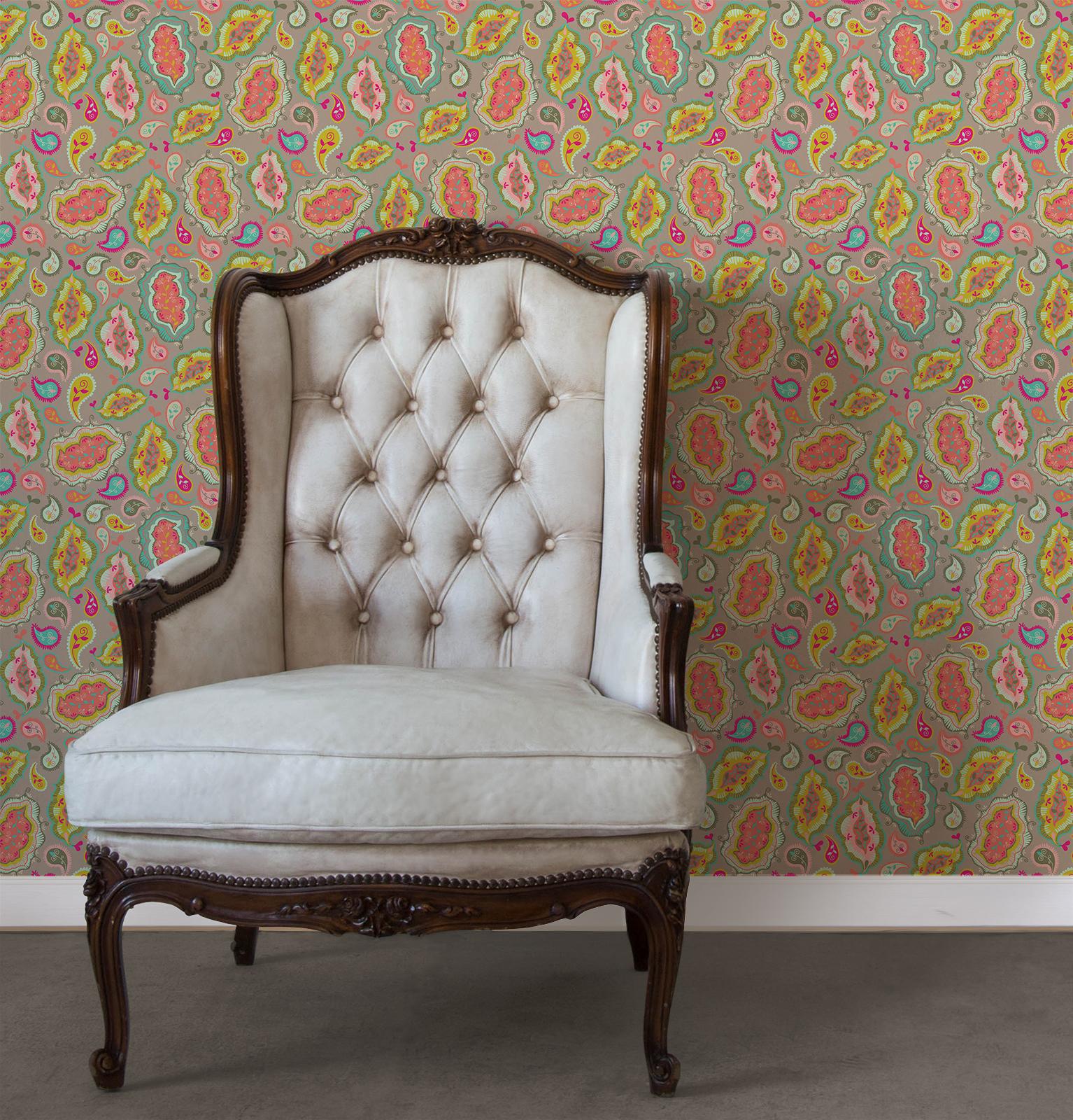wallpaper tiles diy decor apartment easy budget temporary quick fix 1534x1600