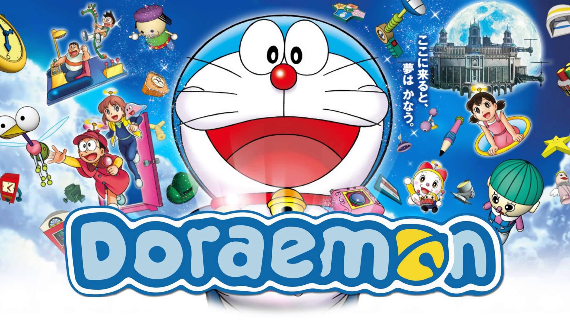 Doraemon Wallpaper Computer HD Desktop 1920x1080
