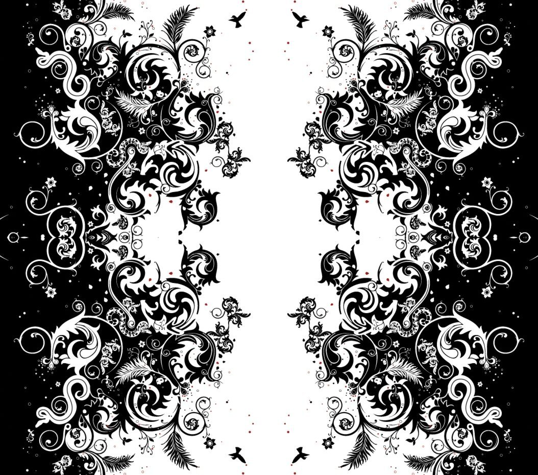 Black And White Wallpaper Designs   All Wallpapers New 1054x930