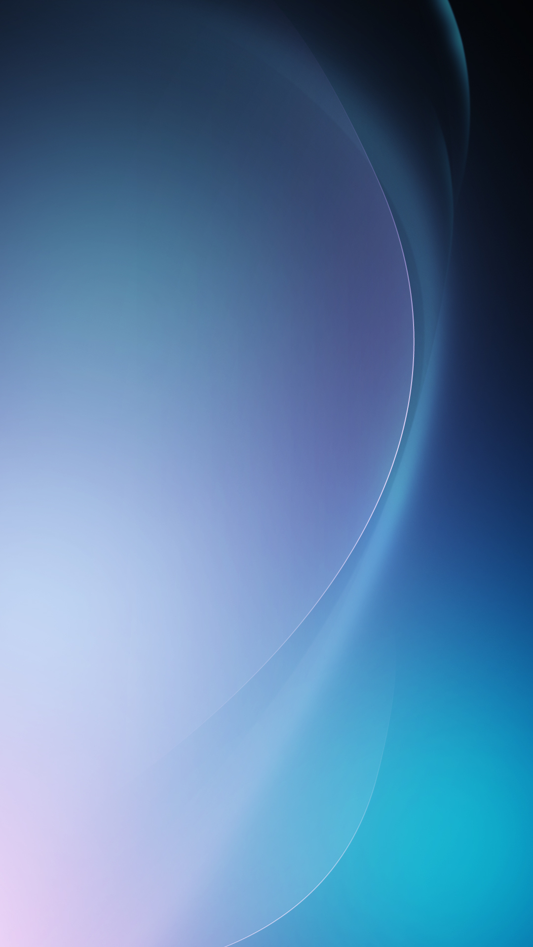 Abstract Blue Wave Android Wallpaper download 1080x1920