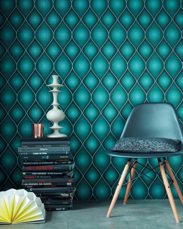 Holographic wallpaper: check out 'Perspectives' by Camengo | WOW ...