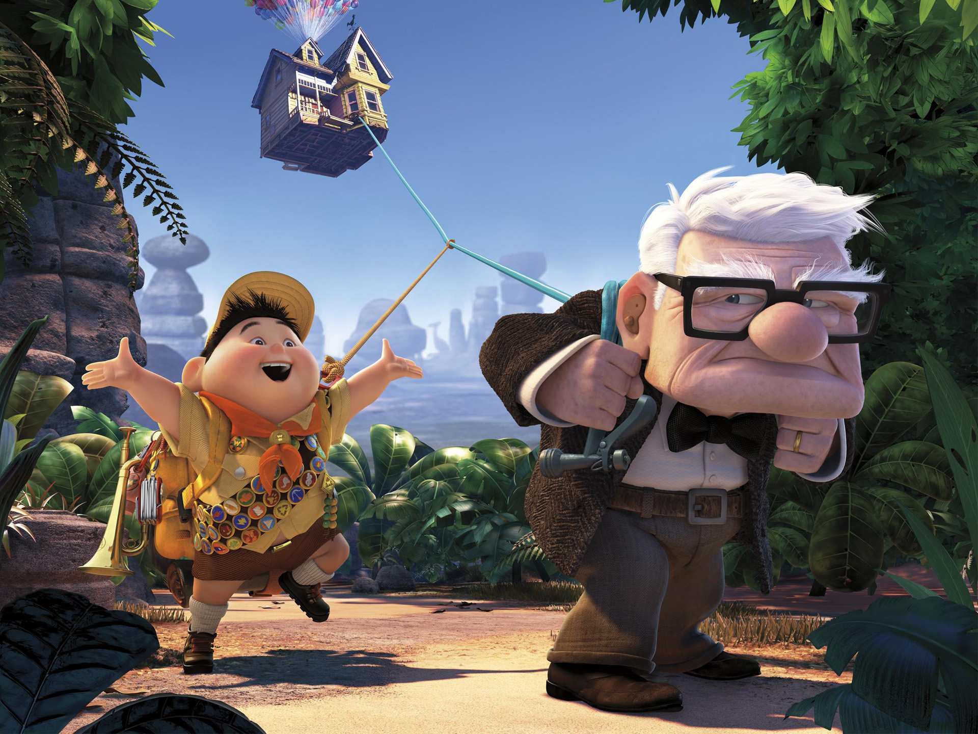 Pixars UP Movie 2009 Wallpapers HD Wallpapers 1920x1440