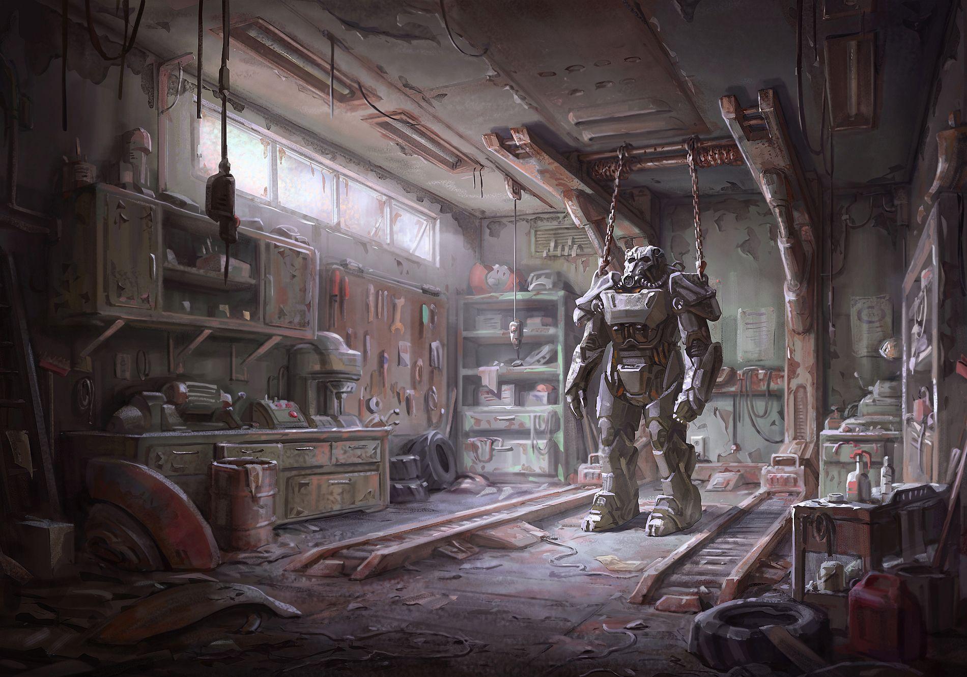 38 ] Fallout 4 Garage Wallpaper on WallpaperSafari
