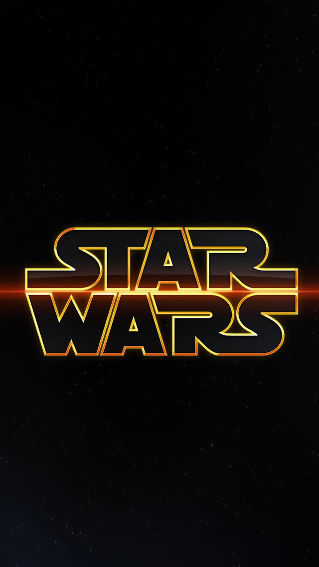 Star Wars Logo iPhone 5s Wallpaper Download iPhone Wallpapers iPad 640x1136