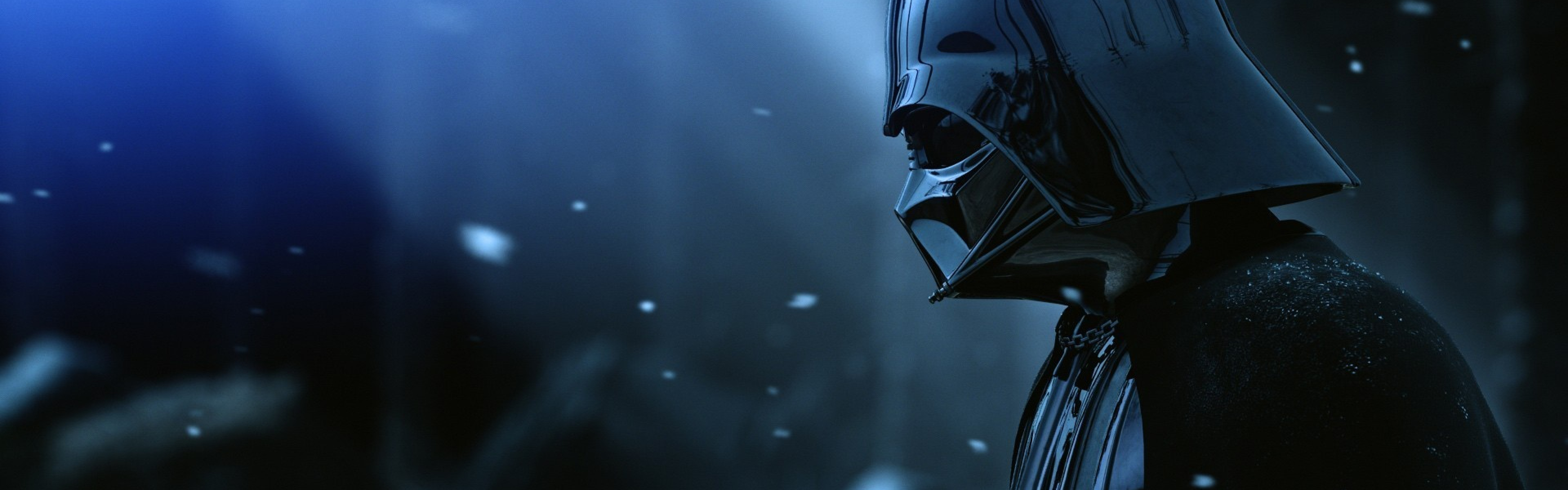 Download Wallpaper 3840x1200 darth vader armor star wars film hat 3840x1200