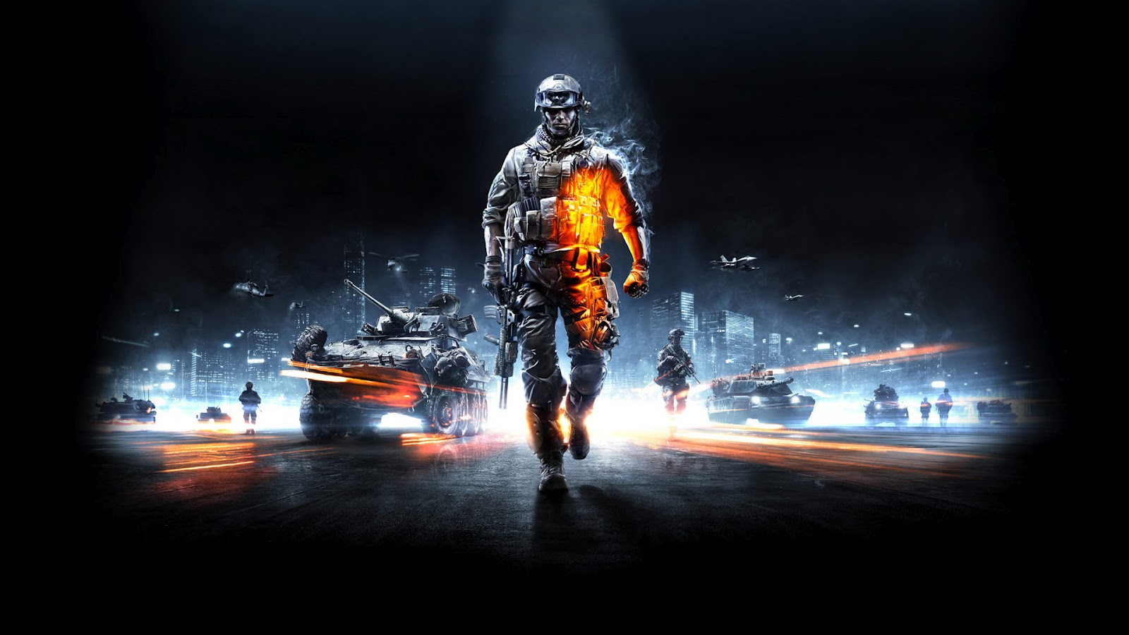 battlefield 3 bf3 wallpaper background ea dice fps first person 1600x900