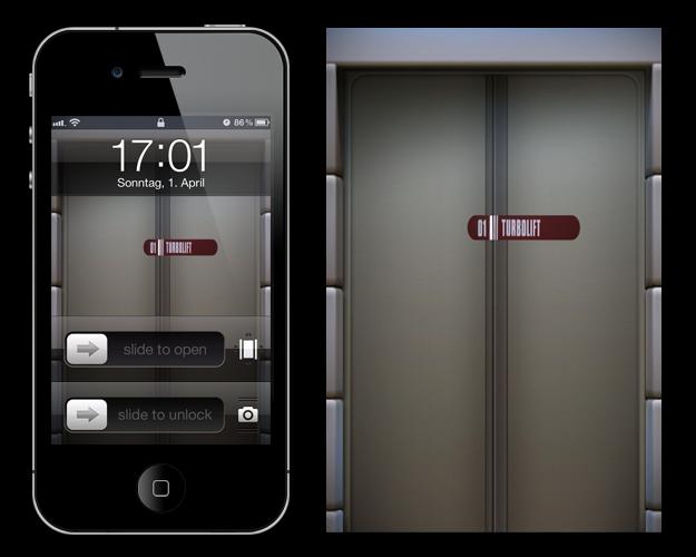 Star Trek iPhone Wallpaper Series Turbolift by MisterXon on 625x500