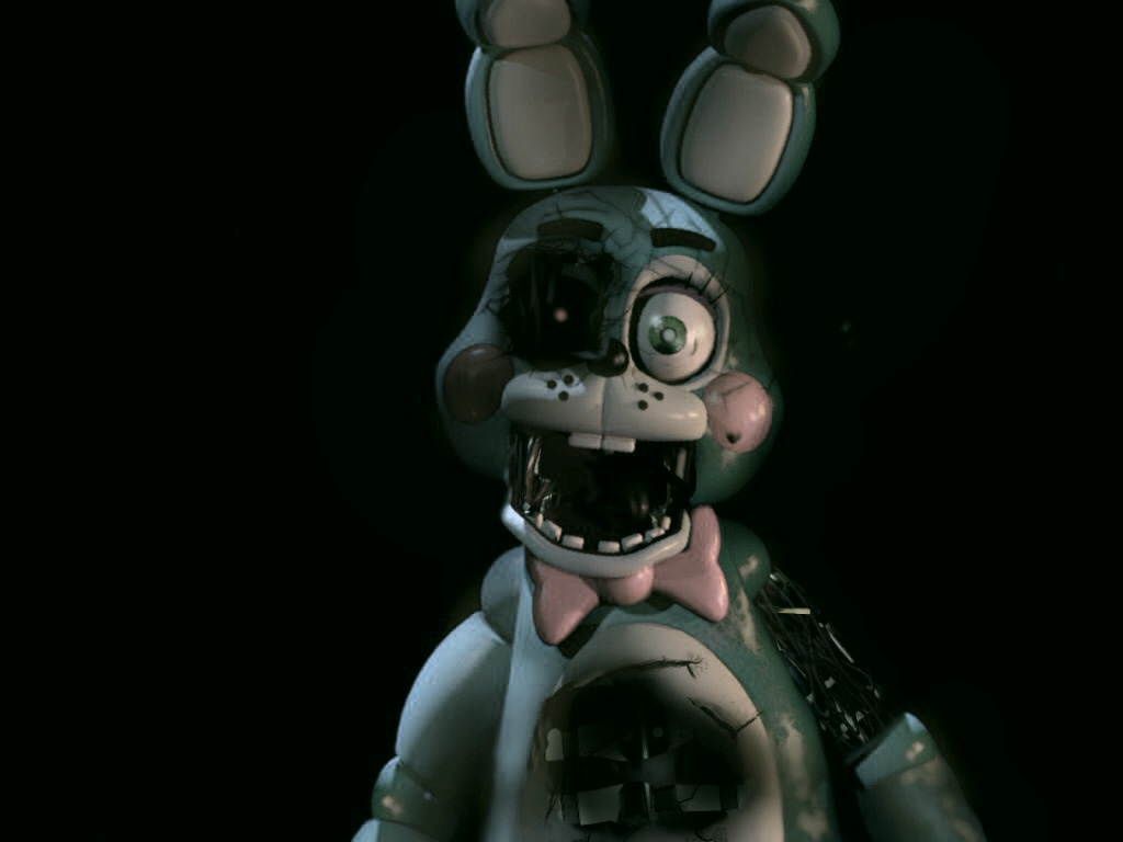 Withered Toy Bonnie The Bunny by FreddyFazTehBear 1024x768
