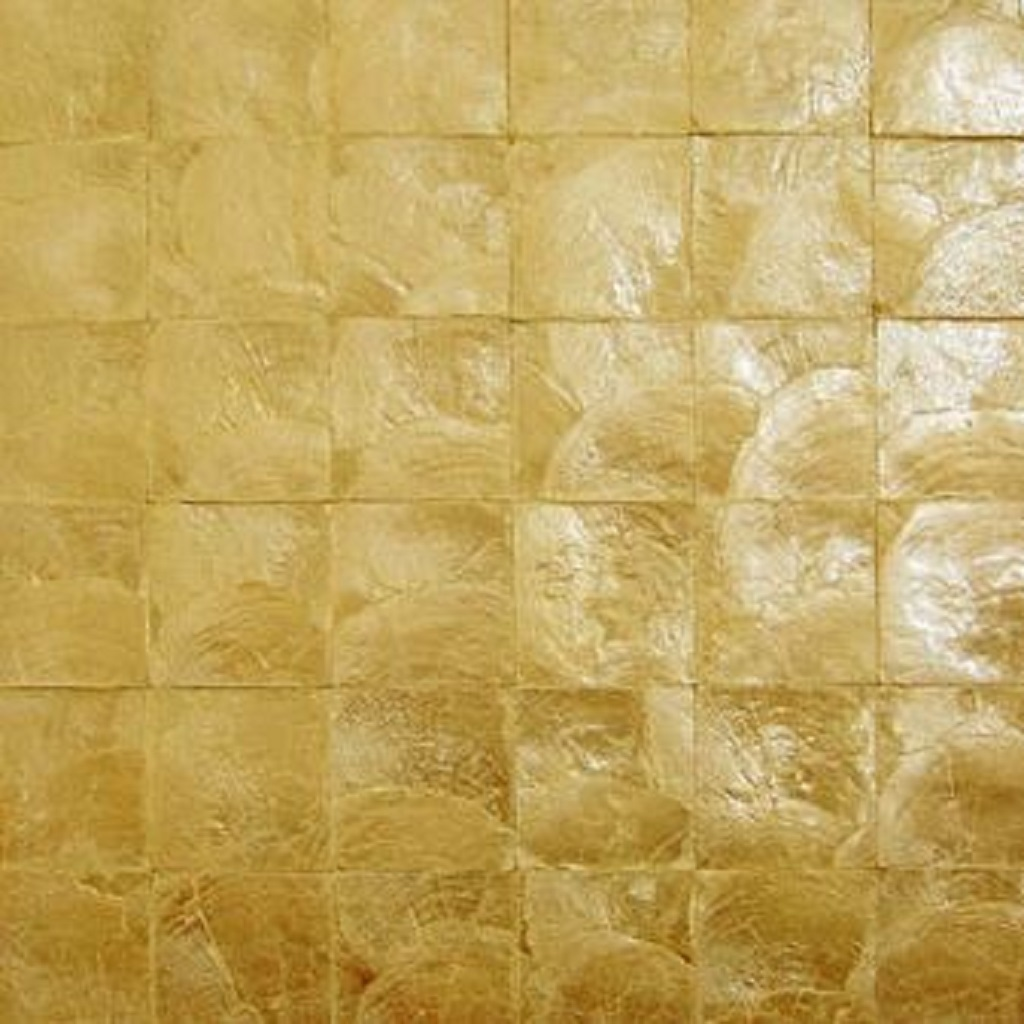 Capiz Shell Wallpaper Bronze The Eco Decor Store 1024x1024