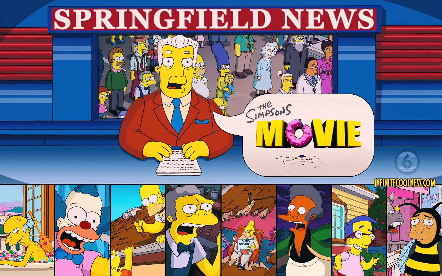 Free Download The Simpsons Movie The Simpsons Movie Wallpaper 850595 1680x1050 For Your Desktop Mobile Tablet Explore 73 Simpsons Movie Wallpaper Crazy Wallpapers Homer Simpson Wallpaper Bart Simpson Wallpaper