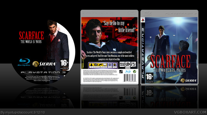 cover scarface the world is yours xbox wallpaper scarface the world is 700x389