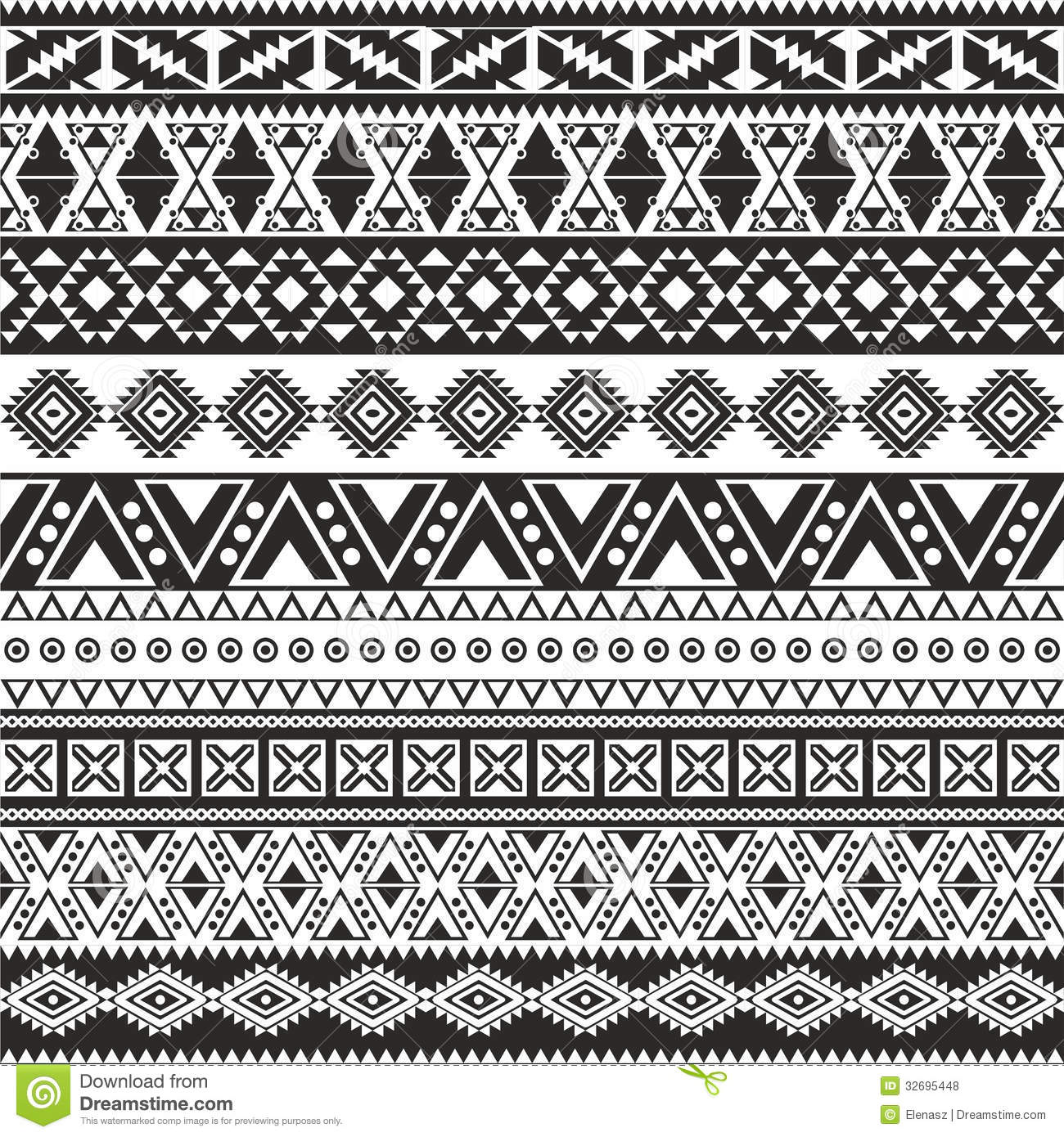 Tribal Pattern Wallpaper Black And White Wallpapers Trendingspace 1300x1390