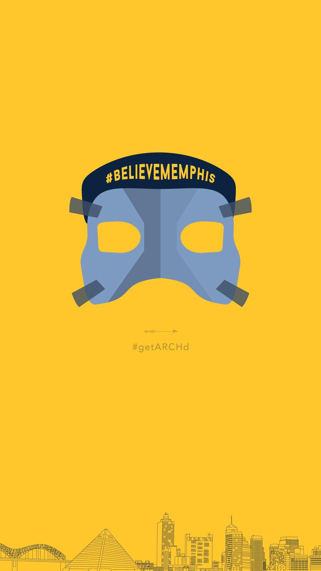 Memphis Grizzlies Mike Conley mask Believe Memphis iphone 1080x1920
