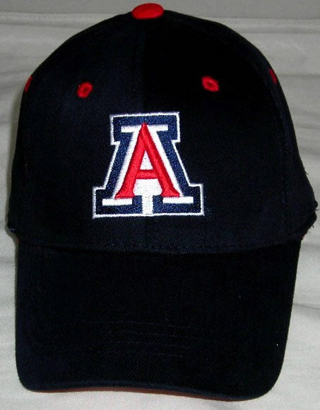 Arizona Wildcats Wool Team Color One Fit Hat 453x581